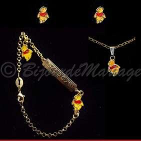 Winnie, parure bijoux