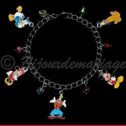 Bracelet enafant Mickey et ses amis