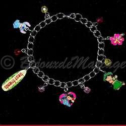 Bracelet enfant Lilo et Stitch