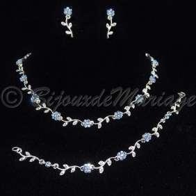 Florale, parure bijoux 3 pièces
