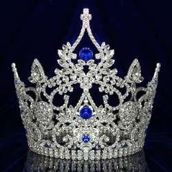 Couronne de miss Queen, bleue