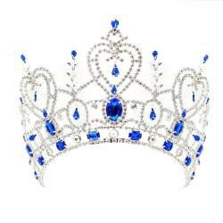 Couronne Miss Mythe, bleu saphir